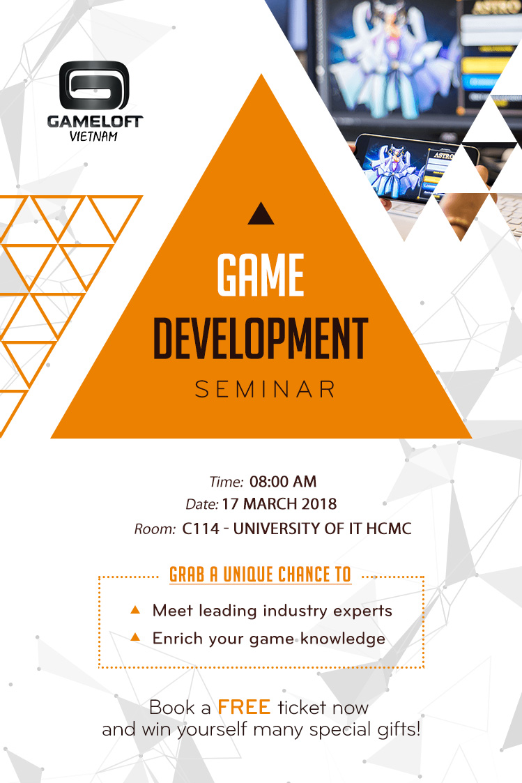 UIT Game Development Seminar Poster