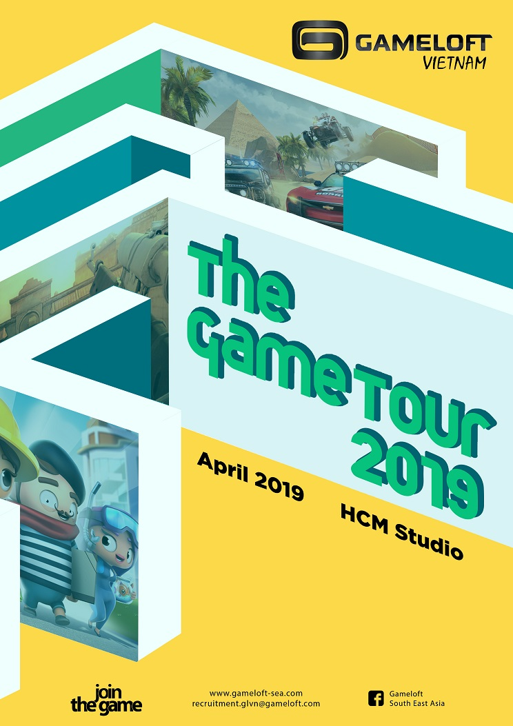 Gametour openday Poster 2019
